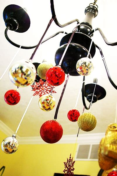 Chandelier Ornament by Ornament Chandelier Tutorial