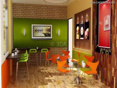 3DA : Office Cafeteria Interior Design