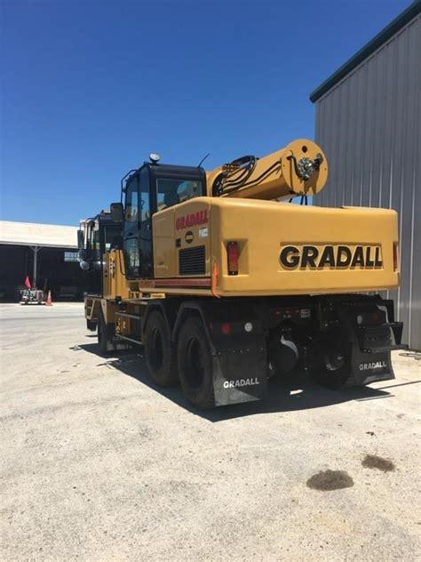 gradall xl iv wheeled excavators construction