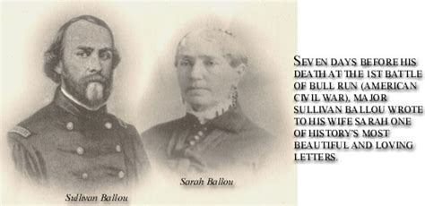 sullivan ballou letter and sullivan a story for the ages lochgarry 29933