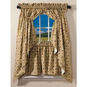 Primitive Living Room Curtains by Calico Crow Curtain Collection Sturbridge Yankee Workshop