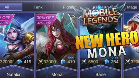 Mobile Legends New Hero Mona