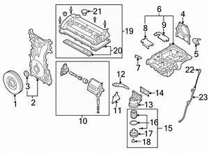 Mazda 6 Engine Timing Cover  Mazda6  W  O Turbocharger