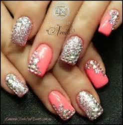 Bling nails rhinestone bridal nail g