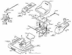 Dixon Ztr 3014  1998  Parts Diagram For Body