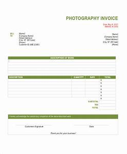 8 photography invoice examples samples With freelance photography invoice