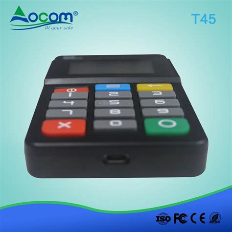 mobile payment pos pos t45 mini handheld mobile payment pos