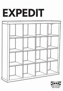 Ikea Expedit Bookcase 58 5  8x31 1  8 U0026quot  Instructions Manual