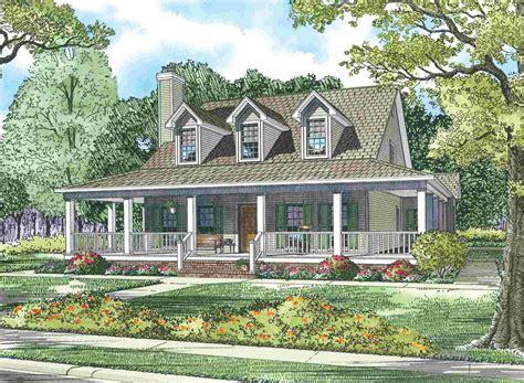 cape  house  wrap  porch sdl custom homes