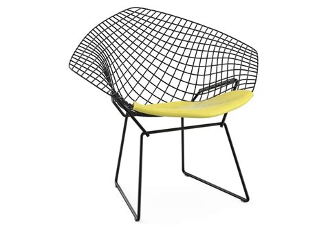 bertoia chaise bertoia chair with cushion knoll milia shop
