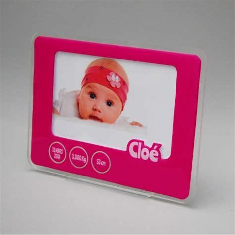 cadre photo naissance magenta personnalis 233