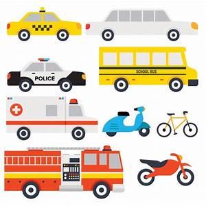 Transport vehicles design Vector | Free Download