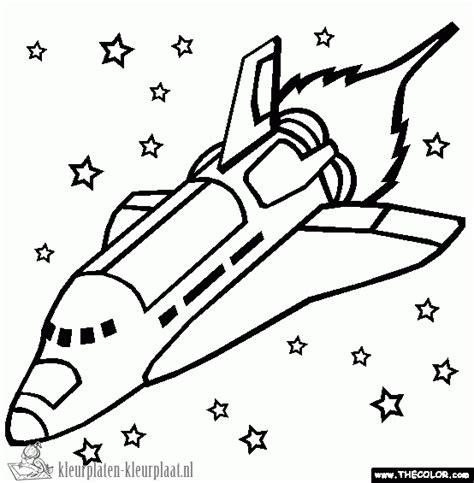 Space Shuttle Kleurplaat by Kleurplaten Spaceshuttle Kleurplaten Kleurplaat Nl