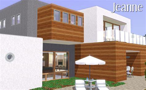 sims 3 maison moderne mod the sims jeanne une maison moderne
