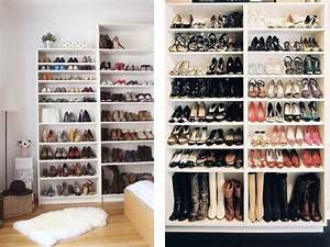 Idee Rangement Chaussure : rangement chaussures tag res billy dressing pinterest etagere billy rangement chaussures ~ Teatrodelosmanantiales.com Idées de Décoration