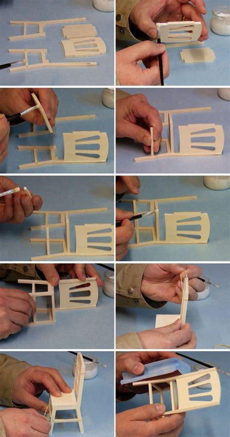 comment faire une chaise 1 6 232 me avec un kit minicrea how to make 1 6 scale chair with minicrea