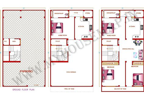 free modern house plans house map design sle elevation exterior home plans