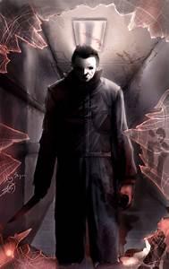 Cartoon and Horror: FAN ART FRIDAY - Michael Myers (Halloween)
