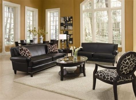 leather living room furniture living room with leather furniture sets and decorative Formal
