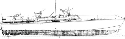 Pt Boat Line Drawings by Bureau Of Ships Drawings Pictures To Pin On
