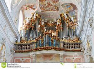 Baroque Church Organ stock photo. Image of cathedral ...
