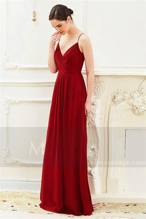 robe framboise pour mariage ou soir 233 e ou une fete