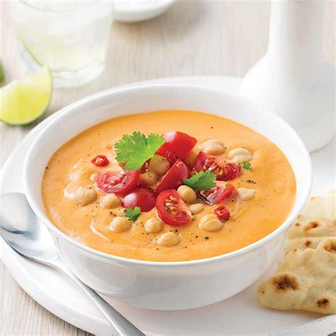 cuisine lentilles soupe repas aux tomates lentilles et pois chiches recettes cuisine et nutrition pratico