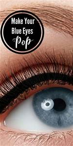 How to make BLUE eyes POP!