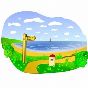 Clip Art Beach Scene - Cliparts.co