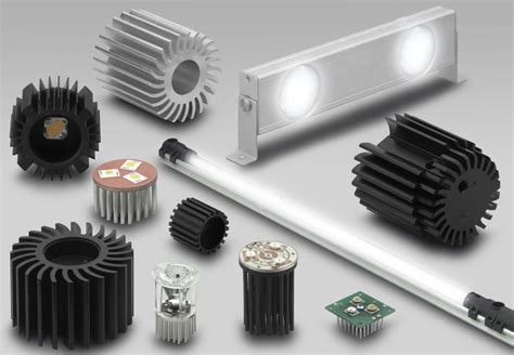new customized led heatsinks fischerelektronik