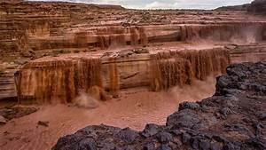 Grand, Falls, Chocolate, Falls, River, Little, Colorado, Arizona