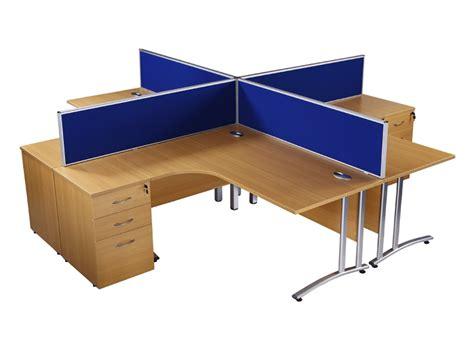 Office Desk Used by Buy Used Endurance Radial Office Desk In Light Oak