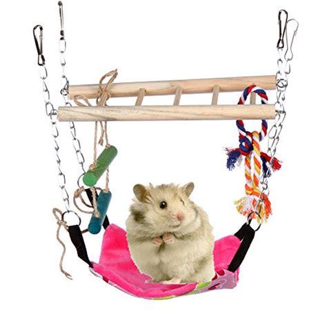 Hamster Hammock by Hamster Toys Small Animals Parrot Hammock Climber Ladder