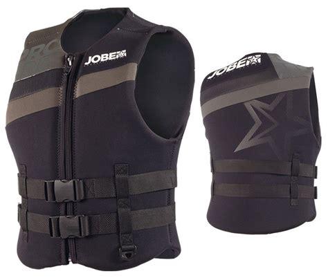 Ski Boat Vest by Jobe Progress Neo Vest Black Lifejacket Wakeboard