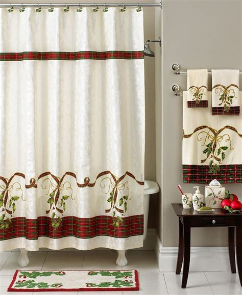 christmas shower curtains  home soulmates