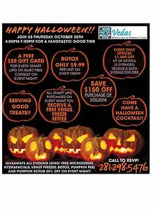 Create Business Flyer Wellness Spa Hosting Special 2014 Halloween Event