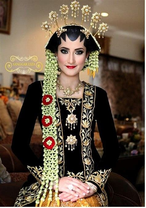 javanese womans bride indonesias traditional clothes