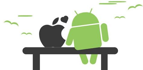 apple on android android vs apple can t we all just get along