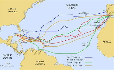 Ship Route by Hernan Cortes Ship Route Www Pixshark Images