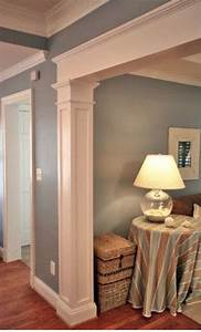 decor home depot trim moulding ideas column moulding With kitchen cabinets lowes with diy framed wall art