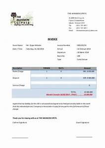 Contoh Invoice Hotel 9 Contoh Invoice Faktur Tagihan Pembayaran Penjualan