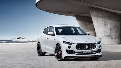 2017 Startech Maserati Levante 4k Wallpaper  Hd Car