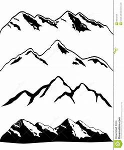 Mountain Sketch Clipart - Clipart Suggest