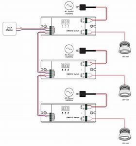 Ac Dmx512 Switch With Stand Alone Mode Sr