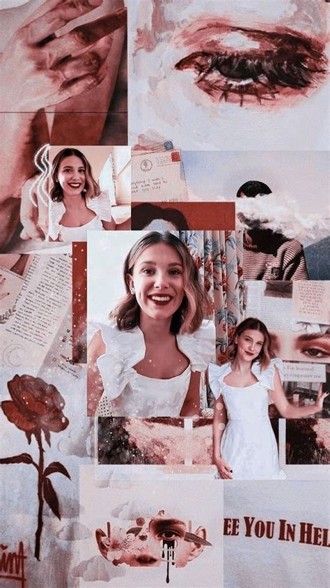 millie bobby brown wallpapers background brown