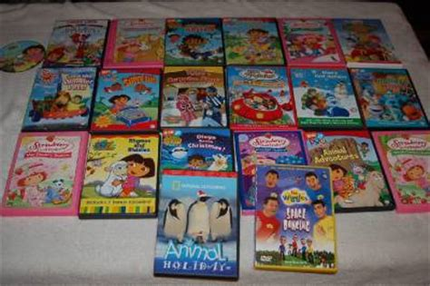 lot of 21 childrens family dvd s einsteins wiggles pets