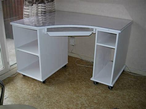 bureau d angle blanc bureau d 39 angle laqué blanc louis l 39 ébéniste
