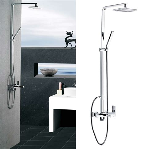 brass kitchen faucets buy poseidon brass contemporary tub and shower set with