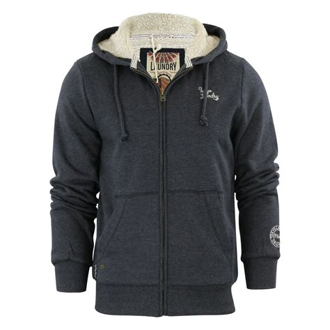 sherpa sweater mens hoodie laundry wolfe point sherpa lined zip up