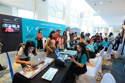 zealand education fair  charmed parents  students